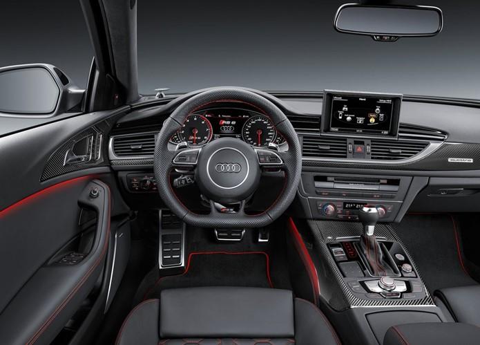 audi rs6 avant performance interior