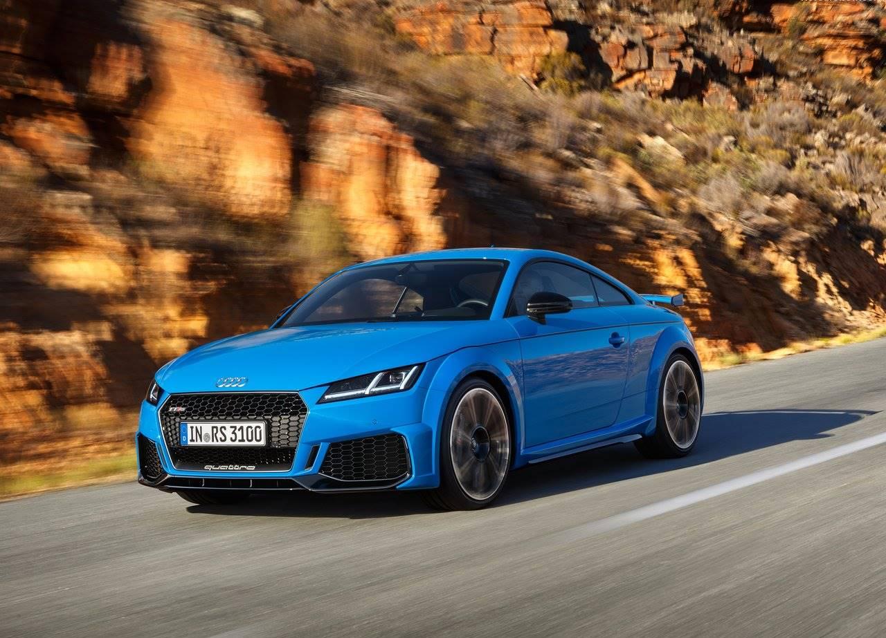 Audi Tt Rs 2020 E Mostrado Com Pequenas Atualizacoes