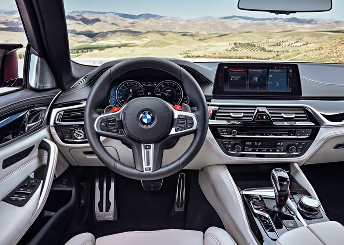 bmw m5 2018 first edition interior painel