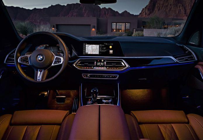 bmw x5 2019 interior painel