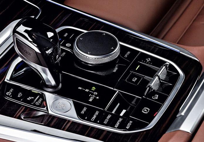 bmw x5 2019 interior console central