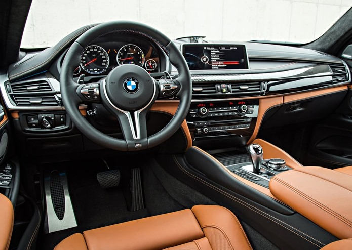 bmw x6 m 2015 2016 interior