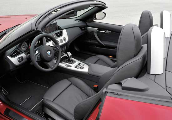 interior bmw z4 m 2011