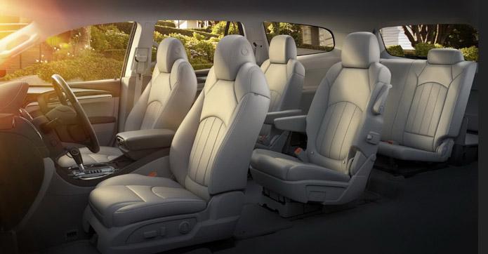 interior buick enclave 2013