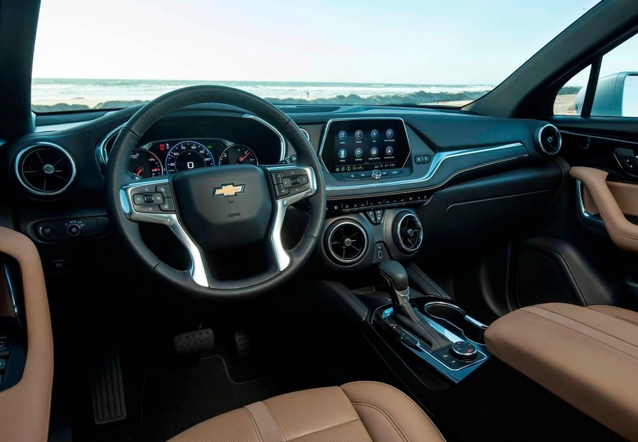 Chevrolet blazer 2020 interior