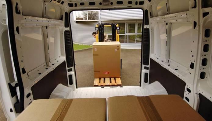 nova citroen jumper 2019 compartimento de carga