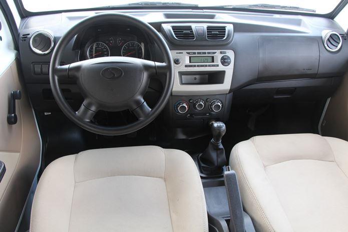 picape effa v21 interior painel