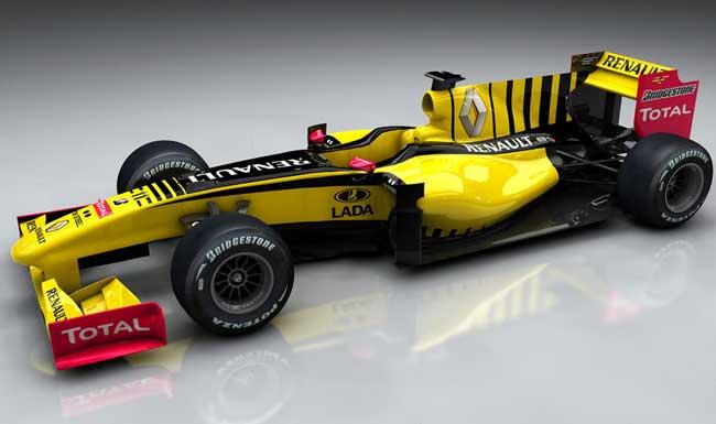 renault formula 1 2010