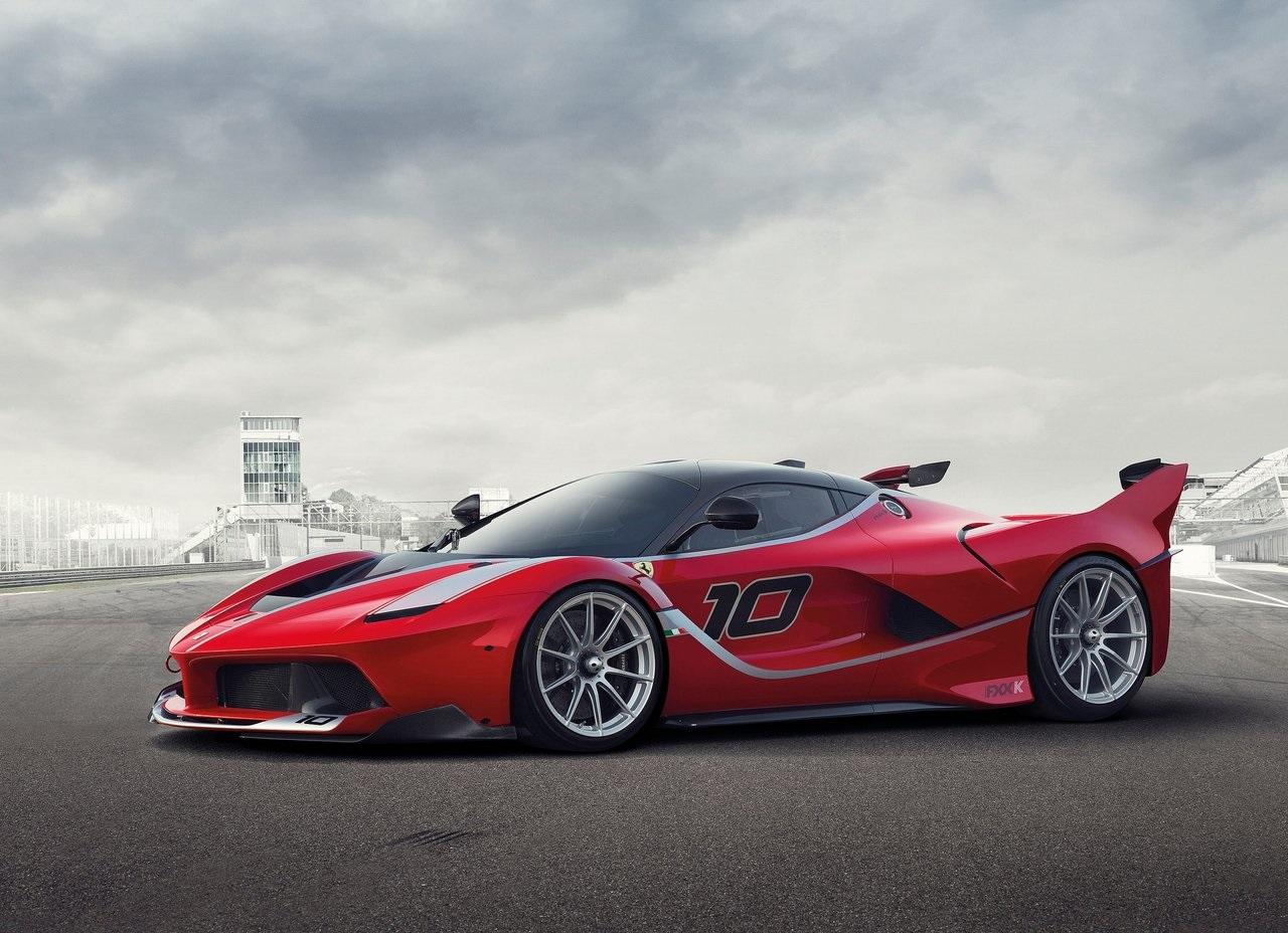 Ferrari Apresenta A Fxx K Com 1050 Cv