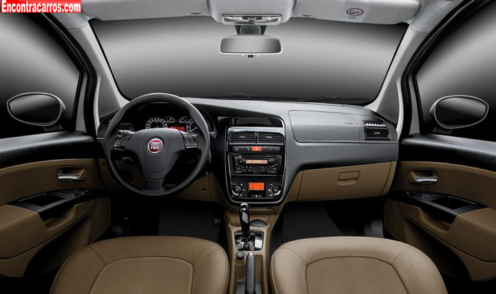 fiat linea absolute 2014 interior painel