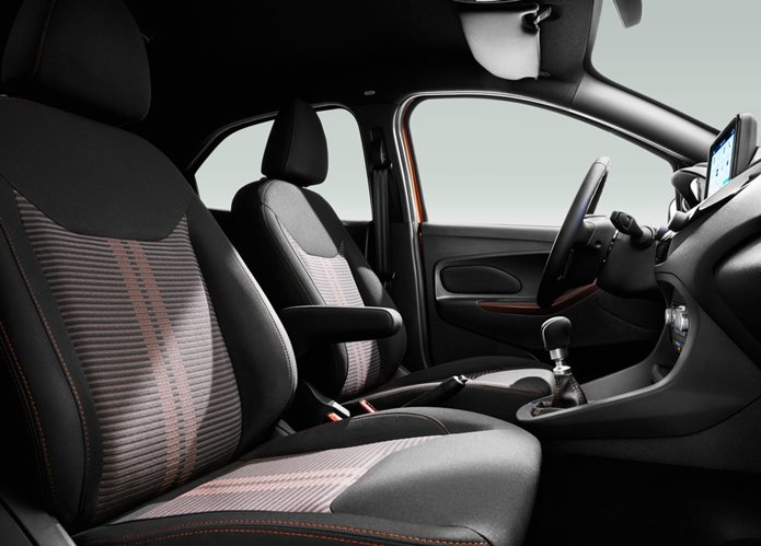 ford ka active / freestyle 2019 interior