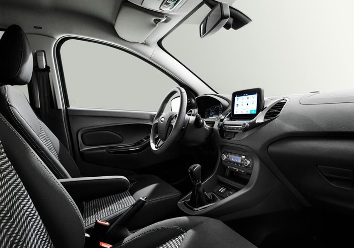 novo ford ka 2019 interior