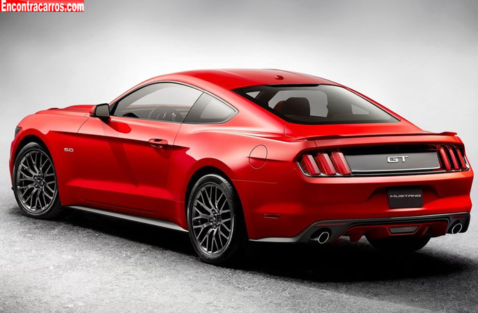 Galeria De Fotos Novo Mustang 2015