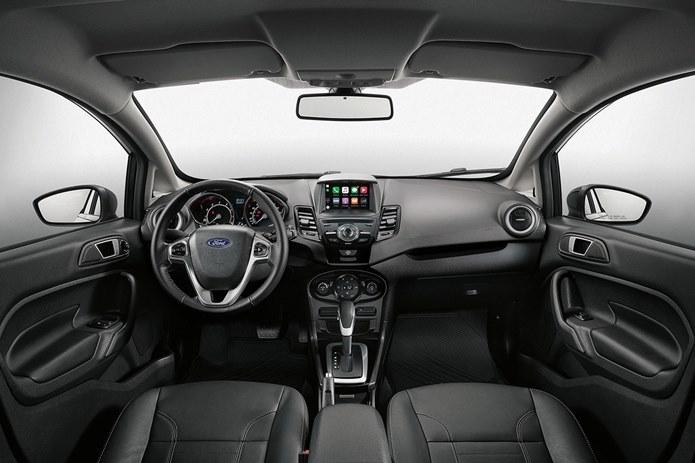ford new fiesta sedan titanium 2017 interior