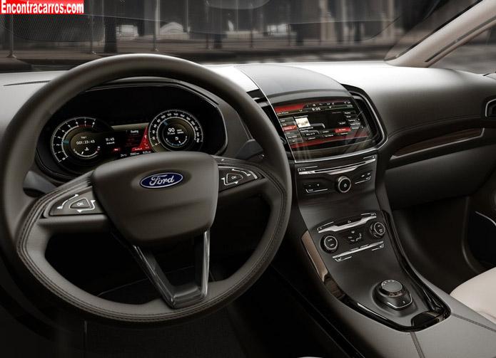ford s max concept interior - ford s max 2014 2015 interior