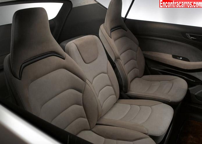 ford s max concept interior banco traseiro