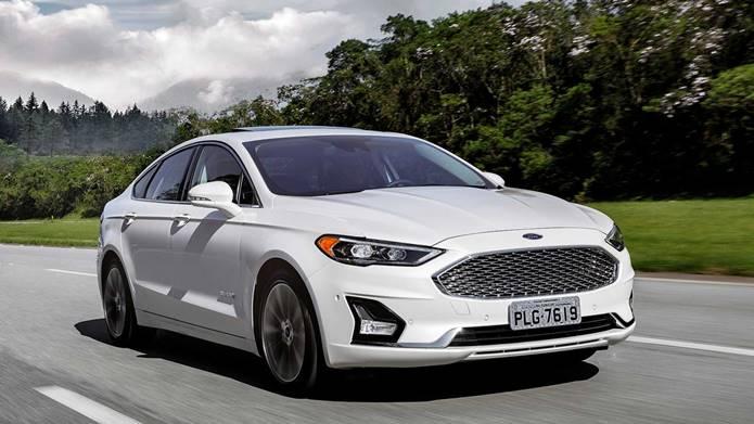 novo ford fusion híbrido 2019 brasil