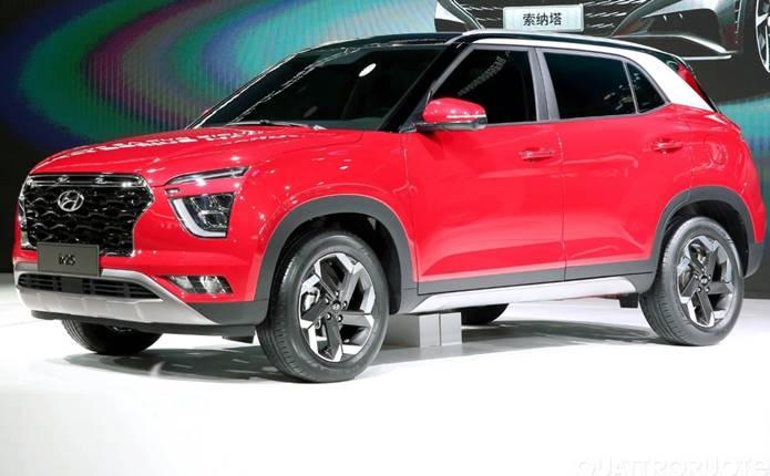 Novo Hyundai Creta 2021 é revelado na China