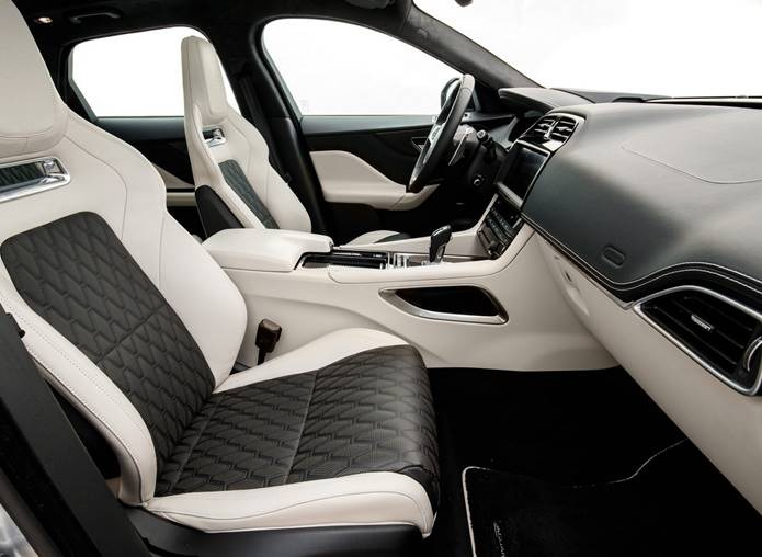 jaguar f-pace 2020 interior