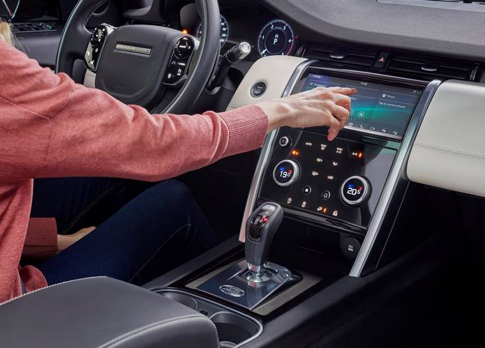 discovery sport 2020 interior painel