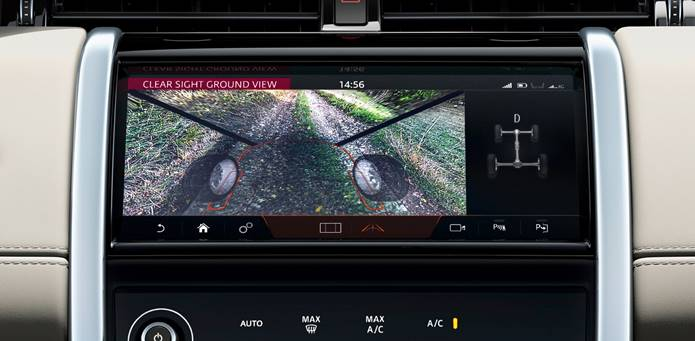 nova discovery sport 2020 clearsigth ground view