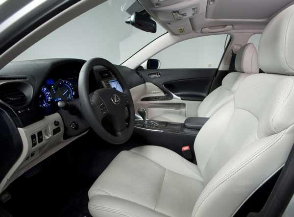 interior lexus is