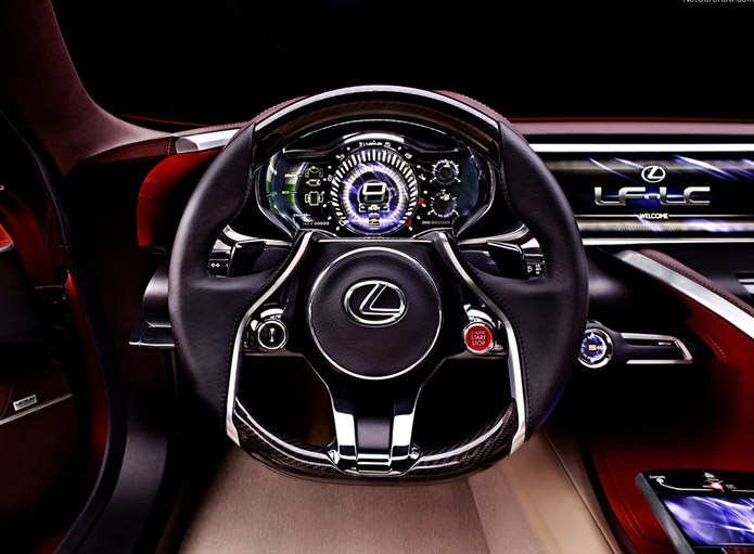 interior lexus lf-lc 2012