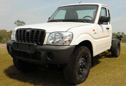mahindra pick up cabine simples chassi