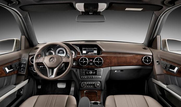 mercedes glk 2013 interior painel