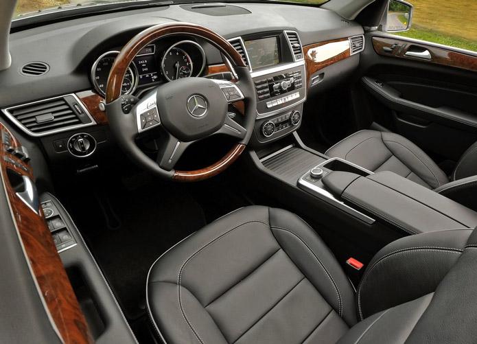 mercedes ml 350 bluetec 2014 interior