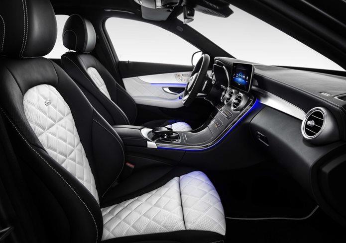 mercedes c180 2019 interior
