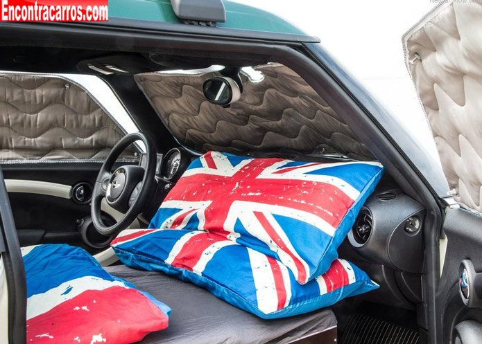 mini clubvan camper interior