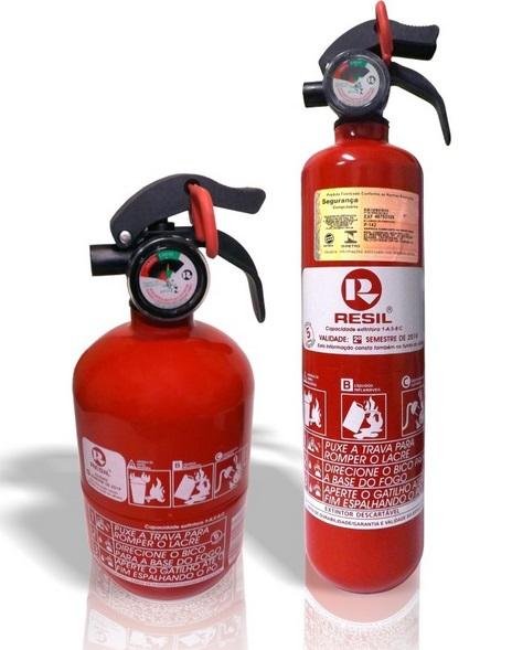 extintor de incêndio veicular abc