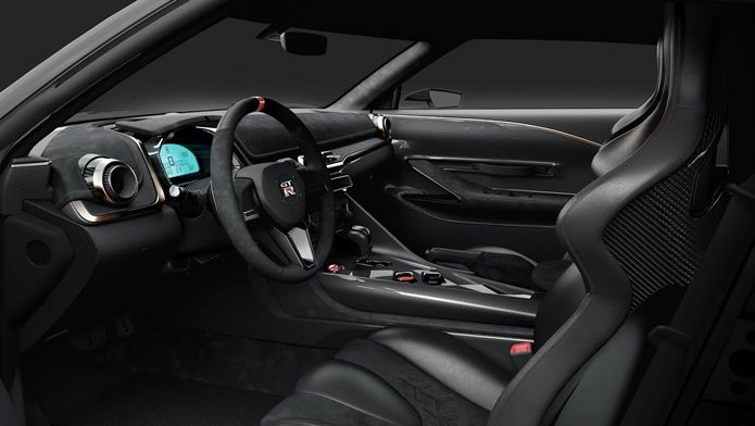 nissan gt-r50 by italdesign interior