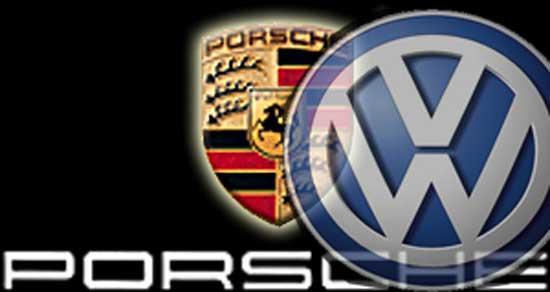 volkswagen e porsche logo