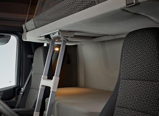 scania r 2019 interior cabine beliche