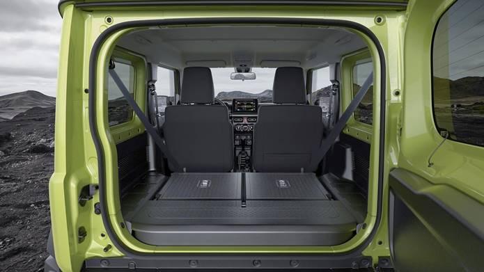 suzuki jimny sierra 2020 interior porta malas