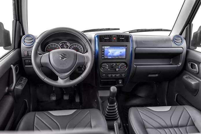 suzuki jimny 4sport 2020 interior painel