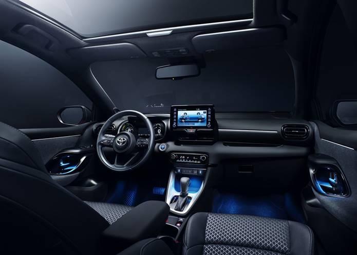yaris 2020 interior painel