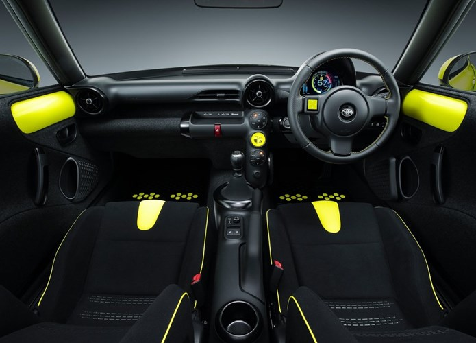 toyota s-fr concept interior painel