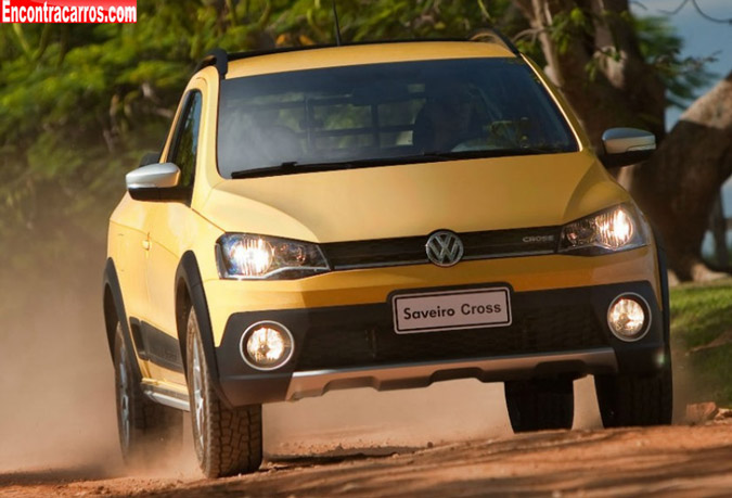 nova volkswagen saveiro cross 2014
