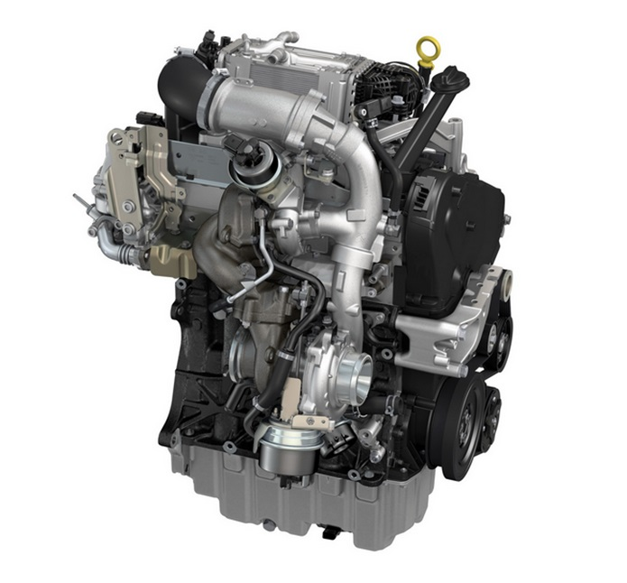 vw motor 2.0 tdi bi turbo diesel