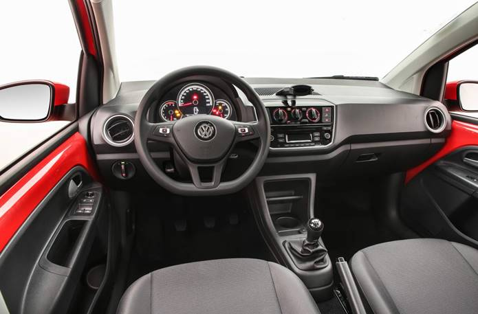 vw up mpi 2020 interior painel
