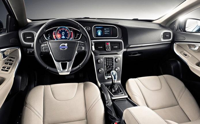 volvo v40 2013 interior