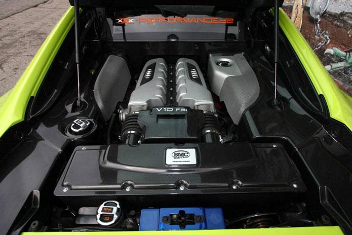 xxx performance audi r8 v10 motor