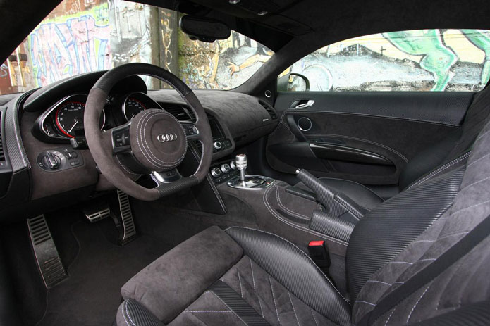 xxx performance audi r8 v10 tuning interior