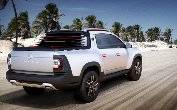 renault duster oroch pick up