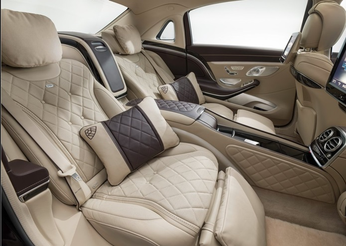 mercedes maybach classe s interior