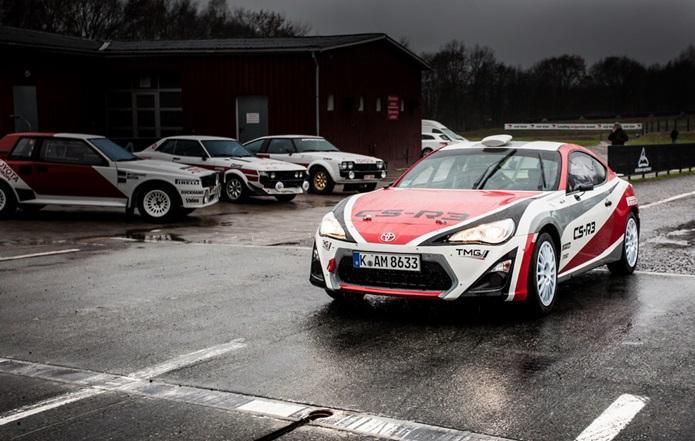 toyota gt 86 cs r3 rally car