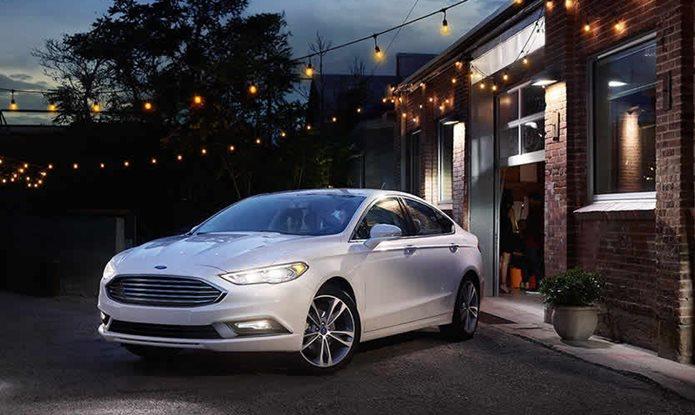 novo ford fusion 2018